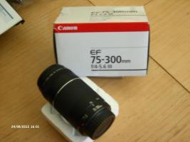 Canon EF 75-300mm / 4,0-5,6/ III Objektiv Neu originalverpackt