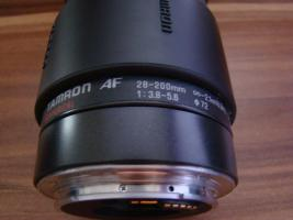 Foto 3 Canon EOS 1000F Spiegelreflexkamera mit Tamron aspherical AF Objektiv 28-200mm