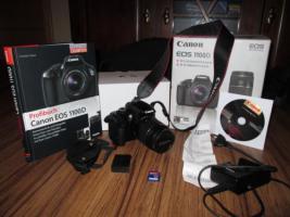 Canon EOS 1100D Kit + Zubehör & Garantie