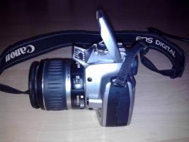 Foto 5 Canon EOS 350D Spiegelreflex Silber