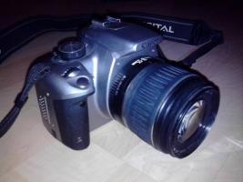 Foto 8 Canon EOS 350D Spiegelreflex Silber