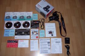 Foto 2 Canon EOS 450 D Kit + EF-S 18-55 IS mit Restgarantie (9 Monate)
