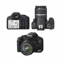 Foto 2 Canon EOS 450D SLR-Digitalkamera, EF-S 18-55mm, Akku, Ladegerät