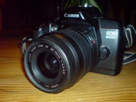 Canon EOS 5000 Kit analog Kamera zu verkaufen. NICHT DIGITAL!!!!!