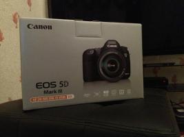 Canon EOS 5D MARK III + EF 24-105 F4 L IS USM Nagelneu, Rechnung, Garantie Reporter Kit Brandneu OVP Versiegelt
