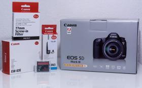 Canon EOS 5D Mark III inkl. Kit 24-105mm Zoomobjektiv, Nagelneu, Rechnung, Garantie/ Neu & unbenutzt