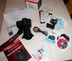 Foto 9 Canon EOS 5D Mark II + 17-40 Canon L + Batteriegriff