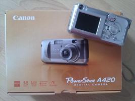 Canon PowerShot A430 Digitalkamara