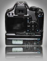 Canon-Spiegelreflexkamera inkl.LCD Bateriegriff und mehr...