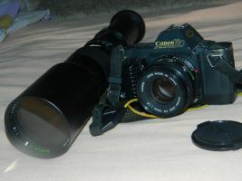 Foto 3 Canon T70 mit Objektiven!!