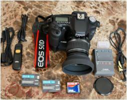 Canona EOS 50D inkl Objektiv / Spiegelreflexkamera