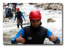 Canyoning Erlebnis Freizeittour Starzlachklamm im Allgäu