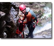 Foto 3 Canyoning Erlebnis Freizeittour Starzlachklamm im Allgäu