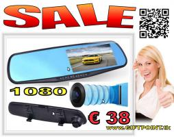 Car Rückspiegel Mirror DashCam Video Dual Lens 1080p FHD nur € 38