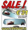 CarCam DVR Mirror DashCam 1080p GPS nur € 31 versandkostenfrei