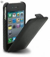 Carbon Schutz Cover, Etui für Apple iPhone 4/4S