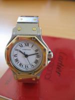 Foto 2 Cartier Damen-Uhr, Modell Santos Ronde, in exzellentem Zustand zu verkaufen