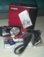 Casio Exilim EX-S200 blau mit Rechnugskopie mit Garantie + OVP + 16GB Speicherkarte