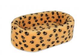 CatBed® Dream Style Größe L 70x45x22cm braun mit Tatzen