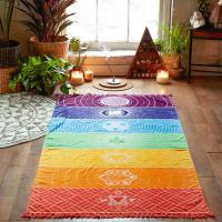 Chakra Teppich Strandtuch Wandaufhänger Meditation Yoga