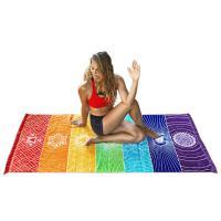 Foto 3 Chakra Teppich Strandtuch Wandaufhänger Meditation Yoga