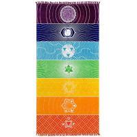 Foto 4 Chakra Teppich Strandtuch Wandaufhänger Meditation Yoga