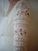 Foto 4 Champangner Brautkleid von remonierten Brauthaus Horn Stgt