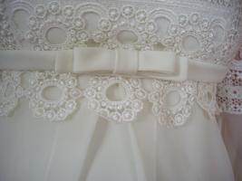 Foto 7 Champangner Brautkleid von remonierten Brauthaus Horn Stgt