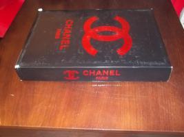 Foto 2 Chanel Bettwäsche Rot Satin 6 teilig