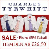 Charles Tyrwhitt Sale - bis zu 65% Rabatt