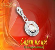 Charm Estelle 925 Sterling Silber, Zirkonia