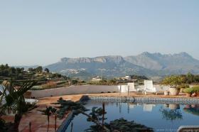 Foto 9 Charmante Finca mit Panoramaausblick auf die Sierra Bernia Berge in Benissa an der Costa Blanca