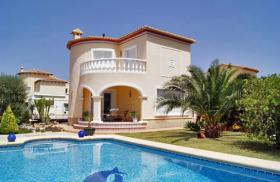 Charmante Villa in Vergel an der Costa Blanca