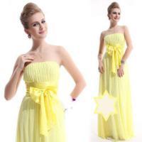 Foto 2 Charmantes Chiffon  Umstandskleid Abendkleid Gr 44 gelb NEU