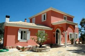 Charming villa with great view to the sea on the isl. of Lefkada/Greece