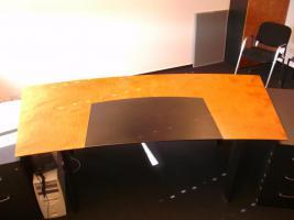Chefzimmer Gwinner Votum Schreibtisch Schrank Highboard