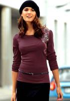 Chillytime - Langarm-Shirt Bordeaux Gr. 40 - OVP - NEU
