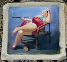 China Malerei Surrealismus  Ölgemälde