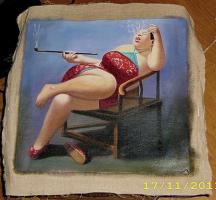 Foto 5 China Malerei Surrealismus  Ölgemälde