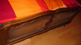 Chippendale Schlafzimmer (Original)  aus den 30/40iger Jahren (Nußbaumholz)