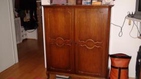 Foto 4 Chippendale Schlafzimmer (Original)  aus den 30/40iger Jahren (Nu�baumholz)