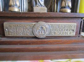 Foto 2 Christliche Figuren auf Holz