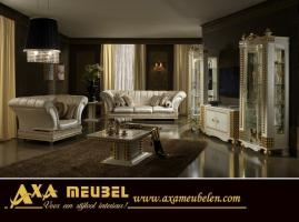 classic italienische hochglanz wohnzimmer set axa m bel nl. Black Bedroom Furniture Sets. Home Design Ideas