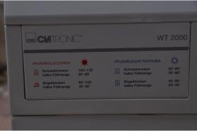 Foto 2 Clatronic WT2000 aAbluft-Wäschetrockner