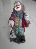 Clown, handbemalt