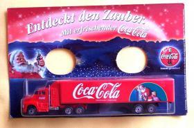 Coca Cola Truck ''Entdeckt den Zauber'' Neu/OVP