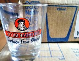 Cocktailglas Caipirinhaglas Mojitoglas Cachacaglas 0,2ltr (220ml) ''Velho Barreiro'' NEU 42Stk. OVP