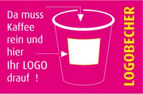 Coffee-to-go Pappbecher mit individuellem Aufdruck ab 1000 St�ck