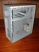 Foto 3 Computer PC ATX Geh�use, normaler Tower, mit Zubeh�r, incl. CD-RW-Brenner