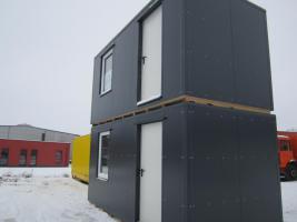 Containeranlage, Büroanlage, Garage, Imbiss-Würstelstand